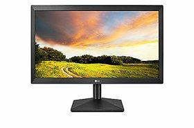 LG 20 inch (49.53 cm) LED Monitor - HD Ready, TN Panel with VGA Port - 20MK400A (Black)