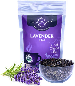 Nature Chai Lavender Green Tea Pack Of 1 (50 Gm Each)