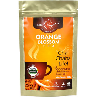 Nature Chai Orange Blossom Green Tea Pack Of 2 (100 Gm Each)