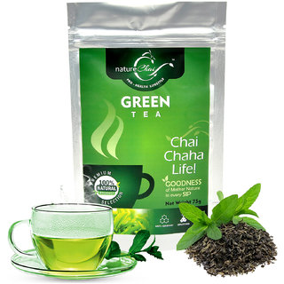 nature Chai Green Tea Pack of 1 (75 gm each)