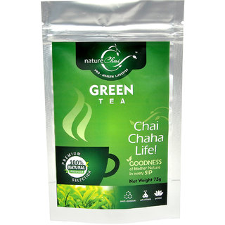 nature Chai Green Tea Pack of 2 (75 gm each)