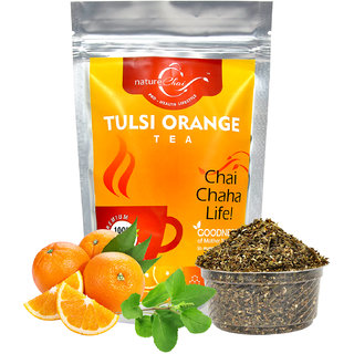 nature Chai Tulsi Orange Tea Pack of 1 (100 gm each)