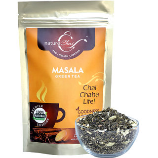 Nature Chai Masala Green Tea  Pack Of 1 (100 Gm Each)