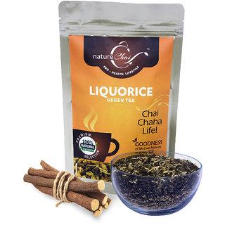 Nature Chai Liquorice Green Tea Pack Of 2 (100 Gm Each)