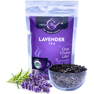 Nature Chai Lavender Green Tea Pack Of 1 (50 Gm Each)