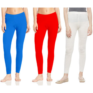 Omikka Woolen Winter Ankle Legging Pack Of 3