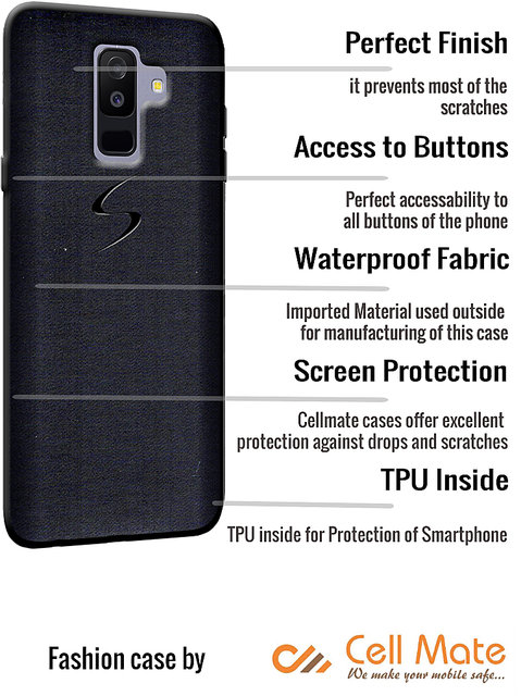 separation shoes 1db39 7c328 Cellmate Fashion Case And Cover For Oppo Realme C1 - Black