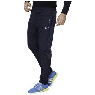 Nike Blue Polyester Track pants for Men