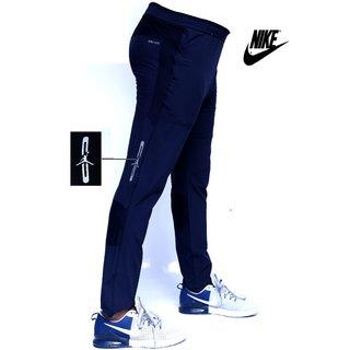 Nike Blue Polyester Track pants for Men
