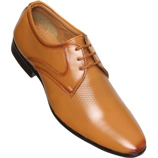 5fc996437c6 Buy Calaso Mens Tan Formal Lace-up Shoes Online - Get 72% Off