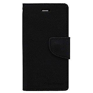 Mercury Goospery Fancy Diary Wallet Flip Cover for VIVO Y55L -Black