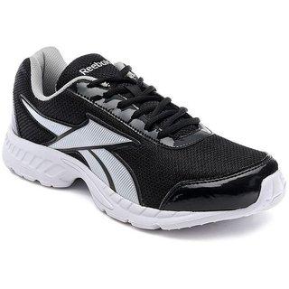 Tech Insist Black Running Sport Shoes