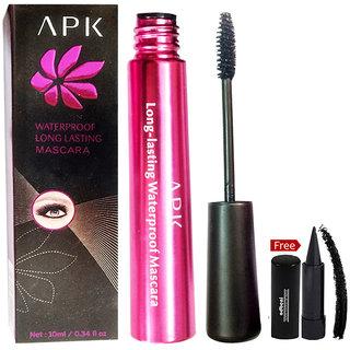APK Waterproof Long Lasting Mascara PK42 With Free Adbeni Kajal Worth Rs.125/