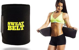 Unisex Sweat Slim Tummy Tucker Belt (Pack of 1)
