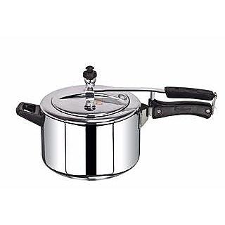 Timeout Pressure Cooker 5 Ltr aluminium Inner Lid