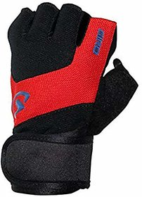 JMO27Deals Gym Gloves/Sports Gloves/Fitness Gloves/Training Gloves/Weight Lifting Gym  Fitness Gloves(Red)