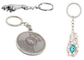 Set of Jaguar + Omg Keychain + Calendar up-to 50 Years Keychain