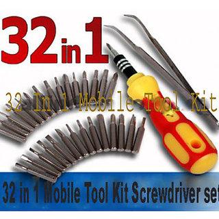 32 In 1 Mobile Tool Kit  Screw Driver Set Computer Repairing Screw Driver Set