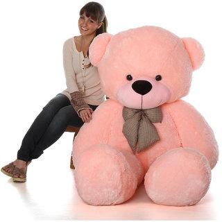 Ashgo 4 feet Teddy Bear Birthday Valentine Gift  Pink    122 cm  Pink