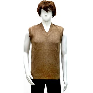 Men's V-neck Sleeveless Sweater
