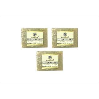 Khadi Natural sandalwood soap pack of 3