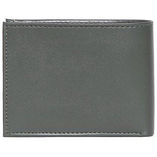Men Casual Green Premium PU Leather Wallet