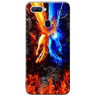 Designer mobile hard back cover for OPPO F9 PRO