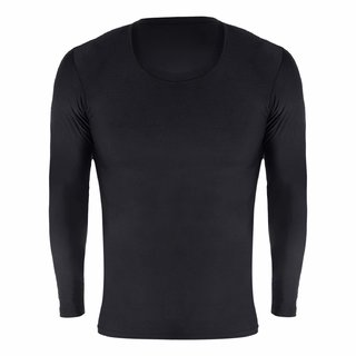 Spinway Compression Fitness Inner Wear Full Sleeves for Mens-Black (Large)