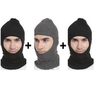 71a6928e426 Buy Monkey Woolen Cap For Men 3 Pcs Online - Get 50% Off