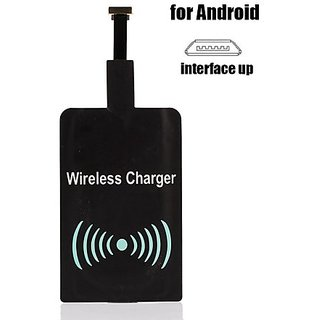 Symbian Tech Android QI Wireless Charging Adapter (Black)