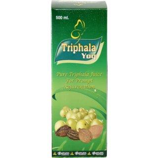 Afflatus Ayurvedic Triphala Yog Juice 500ml with Tulsi Giloy