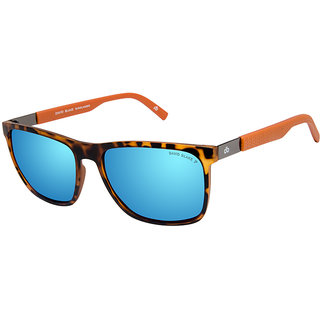 4573f57725 Buy David Blake Blue Wayfarer Polarised UV Protected Sunglass Online - Get  60% Off