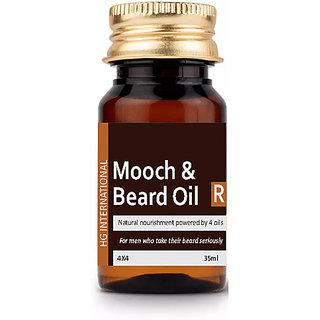 RND Beard Growth Oil  Moustache Growth Oil , Hair Growth Oil And Vitamin-E, Hair Shine Oil-35ML