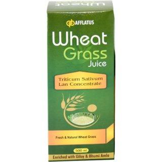 Afflatus Ayurvedic Wheat Grass 500ml Juice