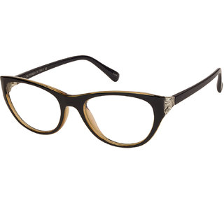 ffb3c680b4 Buy LOF Black Cat Eye Full Rim Anti-Reflective Coating Spectacle-Frame for  Women Online - Get 75% Off