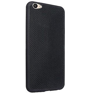 Vivo V5 Jali/Net Hollow Thin Soft TPU Premium Back Case Cover