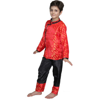 655ab84def05 Buy Kaku Fancy Dresses Chinese Boy Traditional Wear