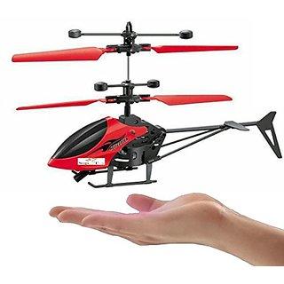 AKSHATA Induction Type Hand Sensor Flying Helicopter for Kids