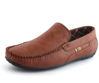 IAddicted Men's Brown Synthetic Casual and Party Loafers