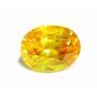 Yellow Sapphire Pukhraj Natural Certified Original Unheated Gemstone Lab Certified Top Quality 4.00 Ratti to 5.00 Ratti By Proaom Jipur Stone