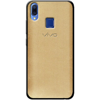 Cellmate Fashion Case And Cover For Vivo Y95 - Golden