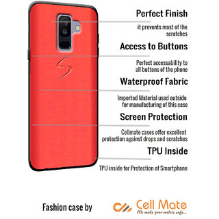 Cellmate Fashion Case And Cover For Vivo Y95 - Red
