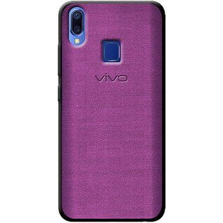 Cellmate Fashion Case And Cover For Vivo Y95 - Purple