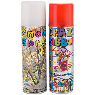 Enjoy Taiwan Combo Pack of Snow Spray Ribbon Spray