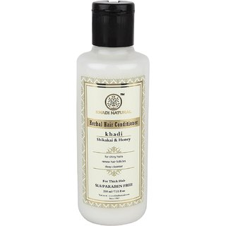 Khadi Natural Shikakai and Honey Hair Conditioner, 210ml