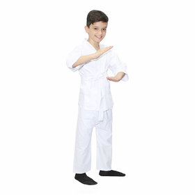 Kaku Fancy Dresses Karate Martial Art/Fighting Costume For Kids School Annual function/Theme Party/Competition
