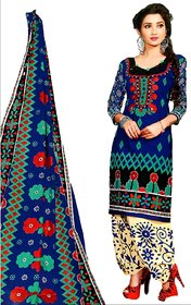 Salwar Kameez Festival Party wear Dress Pure Guaranteed Cotton Unstitched Woman multicolor printed Material