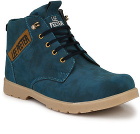 Lee Peeter Blue Casual Boot for Men