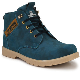 Lee Peeter Men's Blue Casual Boot