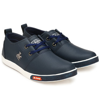 BOYS STYLISH NAVY BLUE CASUAL SNEAKERS
